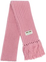Gucci ribbed scarf