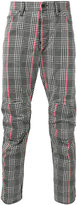 G Star G-Star - houndstooth pattern trousers - men - Cotton/Polyester - 33