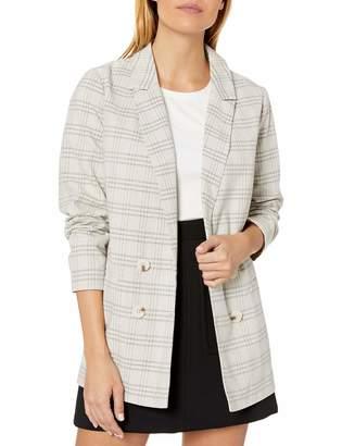 The Fifth Label Women's Violet Check Casual Fashion Blazer