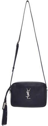 Saint Laurent Navy Lou Camera Bag