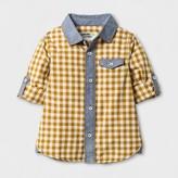 Genuine Kids from OshKosh Toddler Boys' Long Sleeve Checks Button Down Shirt Genuine Kids from OshKosh® - Yellow