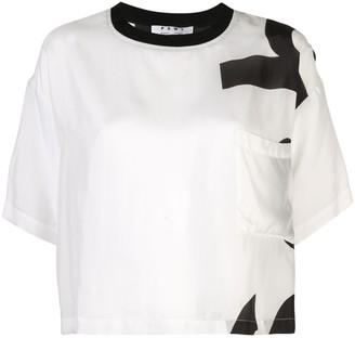Proenza Schouler White Label PSWL Alphabet T-Shirt