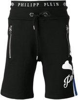 Philipp Plein skull track shorts - men - Cotton - S