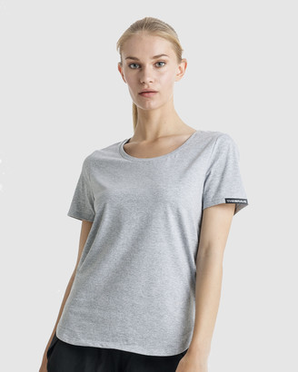 The Brave - Women's Grey T-Shirts - Women's Slipstream T-Shirt - Size One Size, S at The Iconic