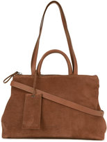 Marsèll 'Gluc' shoulder bag - women - Leather/Suede/Linen/Flax - One Size