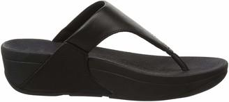 FitFlop Women's LULU Toe Post-Leather Flip-Flop