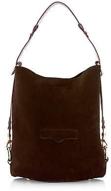 Rebecca Minkoff Women's Utility Convertible Suede Bucket Bag