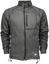 Lotto Heather Gray Fz Fleece Jacket - Men's Regular