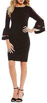 Antonio Melani Tyler Bell Sleeve Knit Dress