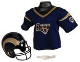 NFL Franklin Sports NFL Los Angeles Rams Helmet Jersey Set