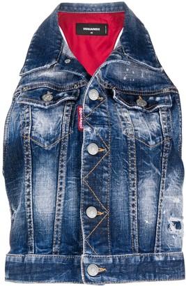 DSQUARED2 Hybrid Sleeveless Jacket