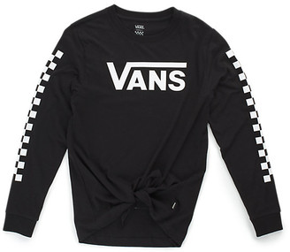 Vans Big Fun Long Sleeve Boyfriend Tee DIY