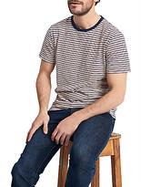 Joules Boathouse Slub Cotton Stripe T-shirt, Midnight