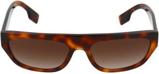 Burberry Eyewear Rectangular Frame Sunglasses