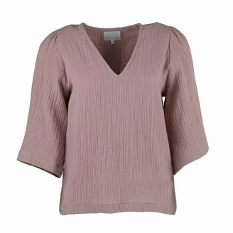 Shades Antwerp shades-antwerp - Louise Top - Old Pink - cotton | medium | old pink - Old rose/Old pink