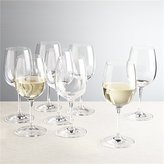 Crate & Barrel Set of 8 Viv White Wine Glasses