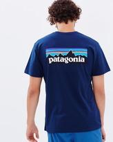 Patagonia Men's P-6 Logo Cotton T-Shirt