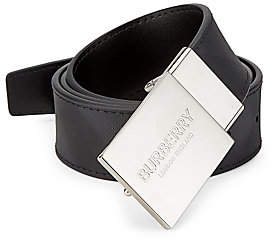 Burberry Men's London Check Reversible Belt