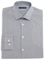 Theory Mini Stripe Regular Fit Dress Shirt