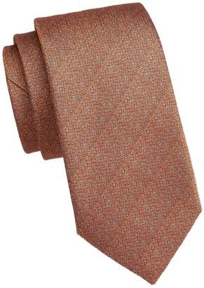Saks Fifth Avenue COLLECTION Melange Woven Silk Tie
