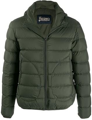 Herno short zip-up jacket