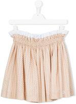No21 Kids - pleated skirt - kids - Cotton - 13 yrs