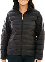 JCPenney A.N.A a.n.a Packable Puffer Jacket - Plus