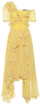 Preen by Thornton Bregazzi Kennedy georgette midi dress