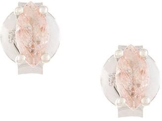 Natalie Marie marquise rutilated quartz studs