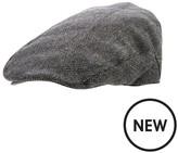 Very Mens Herringbone Flat Cap