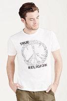 True Religion True Peace Sign Mens Tee