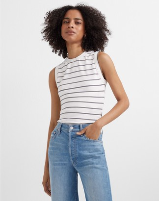 Club Monaco Perfect Striped Tank