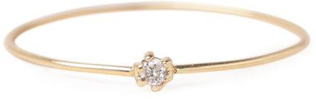H.R. / Gold Ring with Diamond