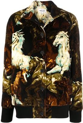 Kenzo Horse-Print Jacket