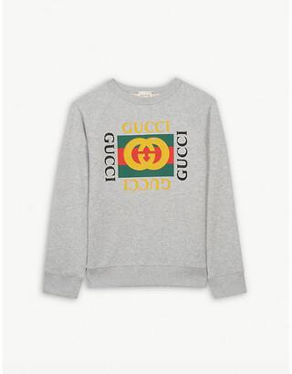 Gucci GG-print cotton sweatshirt 4-12 years