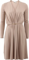 Lanvin Drape Front Dress