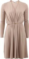 Lanvin Drape Front Dress
