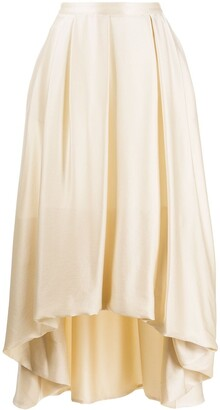 Fabiana Filippi High-Waisted Flared Skirt