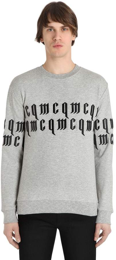 McQ Printed Cotton Sweatshirt