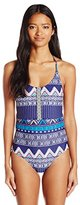 Roxy Women's Band It One Piece Swimsuit