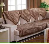 JIN Sofa mats Sofa cushions,fabric cushion anti-slip lathr sofa towl, sofa
