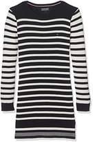 Tommy Hilfiger Girl's Ame Stripe Sweater L/S Dress