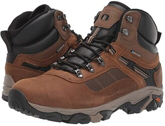 Hi-Tec Ravus Quest Lux Mid Waterproof (Teak) Men's Shoes