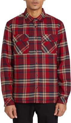 Volcom Belgrade Plaid Button-Up Shirt
