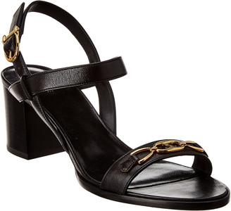 Celine Triomphe Leather Sandal