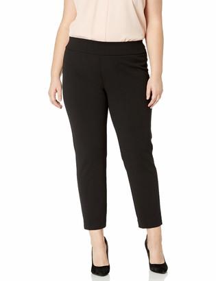 Nine West Women's Plus Size Pull ON Drapey Pant