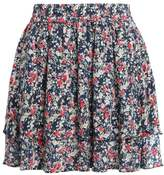 Only ONLNAYA BOX Aline skirt night sky/rose