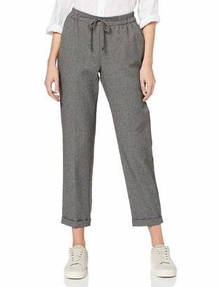 Dorothy Perkins Women's Grey Formal Joggers Work Utility Pants 12