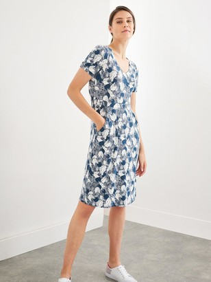 White Stuff Rosemary Sustainable Dress - Teal