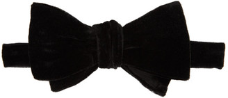Paul Smith Black Velvet Bow Tie